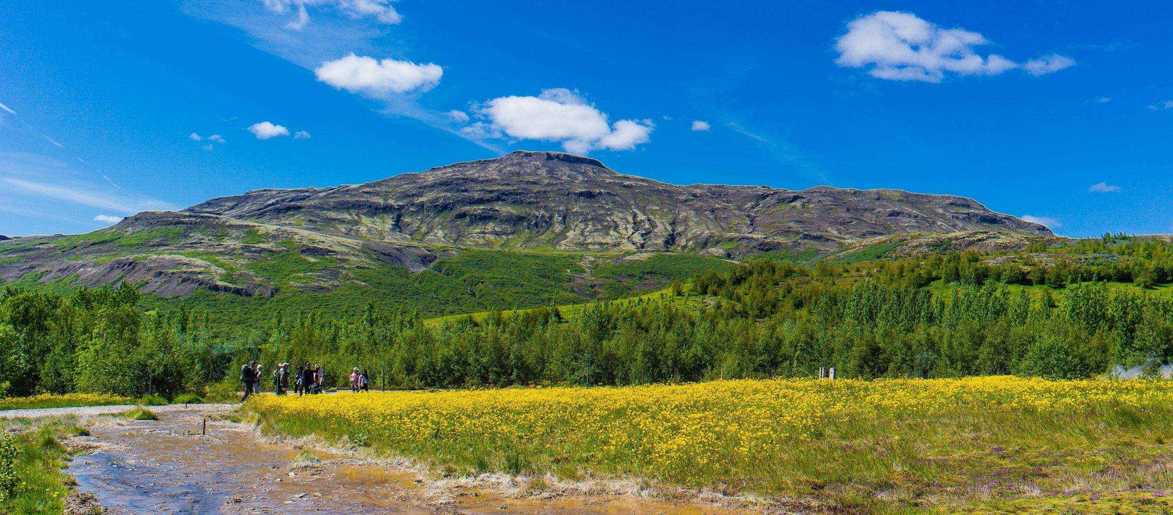 Rowerem przez Islandię. Droga z Laugarvatn do Hveravellir. Wjazd na Kjölur