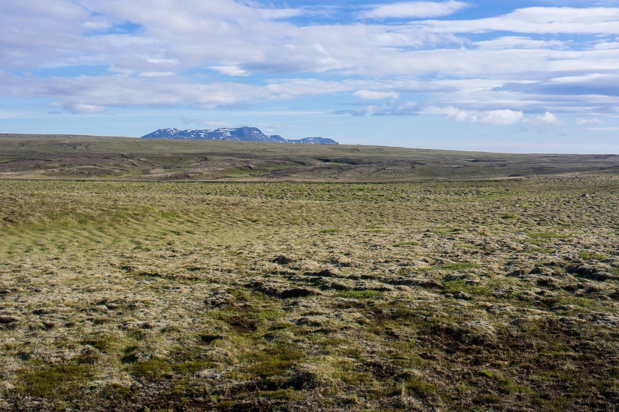 Rowerem przez Islandię. Trasa z Reykjavik do Laugarvatn. Droga numer 36.