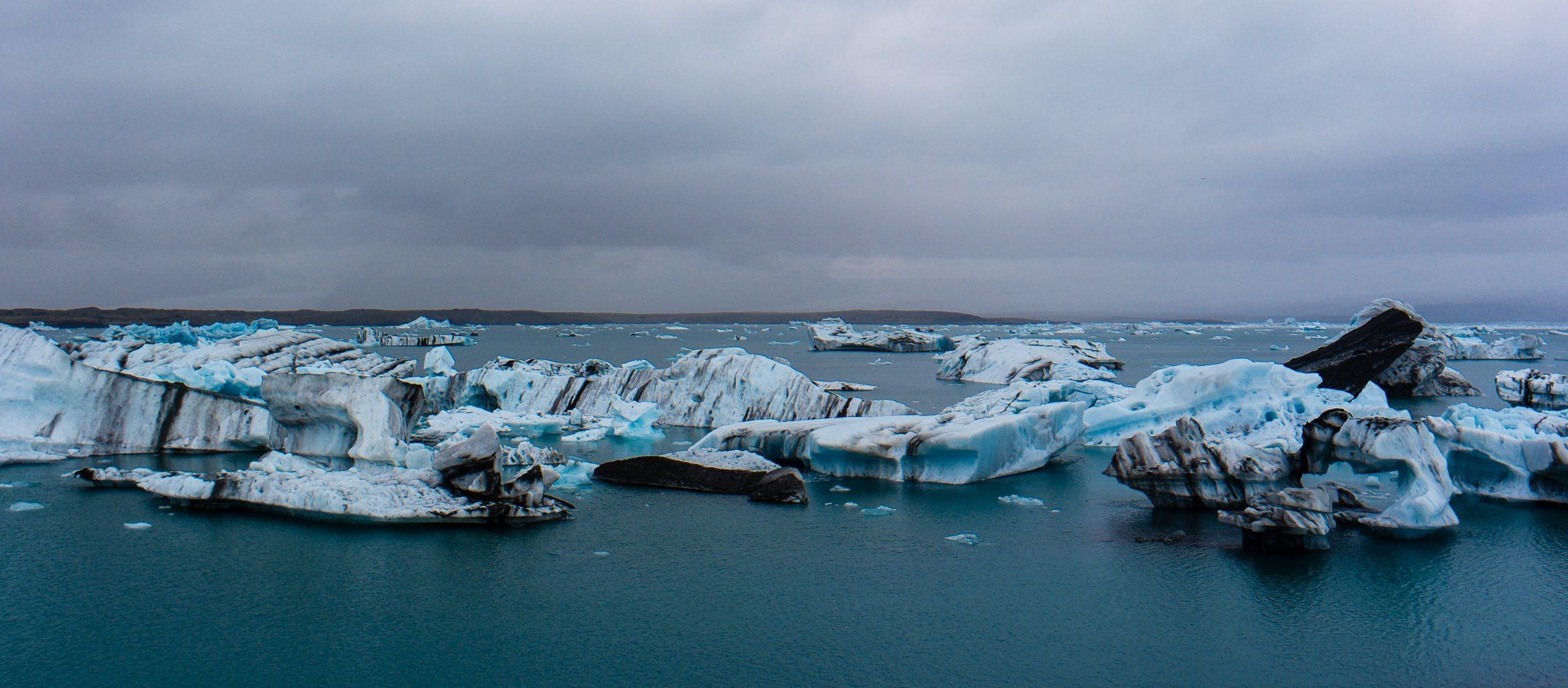 laguna lodowcowa Jokulsarlon