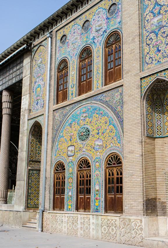 Tereny pałacu Golestan
